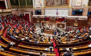 L'Assemblée nationale, le 26 janvier 2021.