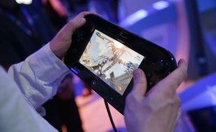 Le jeu «Bayonetta 2» sur Wii U.