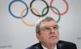 Thomas Bach a dû se résoudre à annoncer le report des JO 2020.