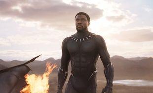 Chadwick Boseman dans Black Panther de Ryan Googler