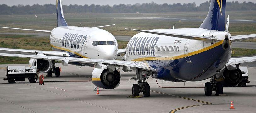 Avions Ryanair (Illustration).