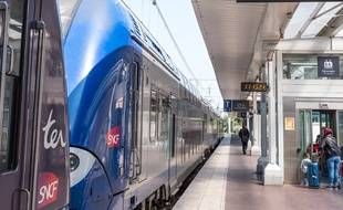 Le trafic TER est suspendu sur la ligne Lyon-Ambérieu. Illustration.