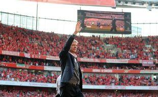 Arsène Wenger a vécu son dernier match à domicile, dimanche.