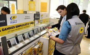La Poste a lancé son offre mobile en mai 2011.