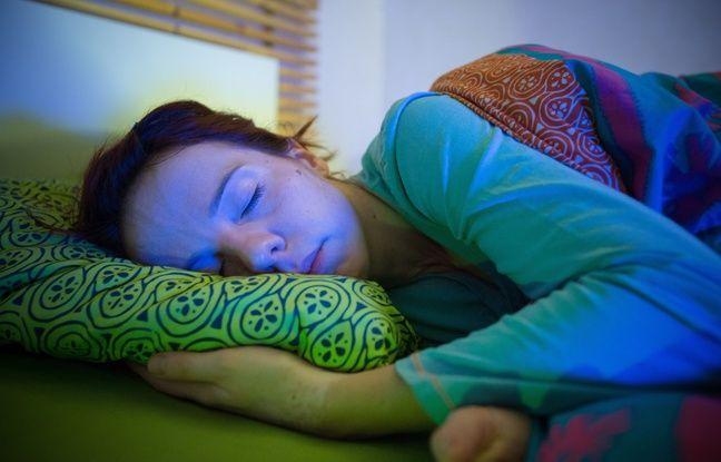 Le rêve lucide est l'état où la personne rêve tout en étant consciente.