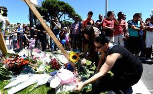 Des hommages après l'attentat de Nice.