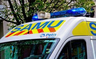 Une ambulance du SAMU. Illustration