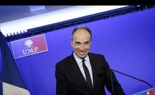 Jean-François Copé, le président de l'UMP, le 23 janvier 2014 à Paris.