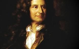 Portrait de Nicolas Boileau par Hyacinthe Rigaud