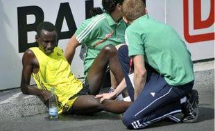 A Berlin, au 27e kilomètre, Dieudonné Disi avait du abandonner à cause de son genou.
