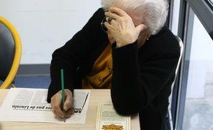 Les femmes seraient plus touchées par la dépression que les hommes sauf après 85 ans, selon une étude (Illustration).