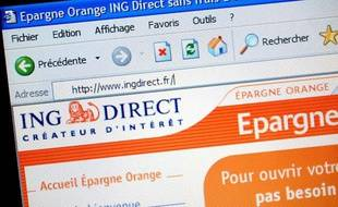 ING direct est le n°1 de la banque en ligne