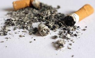Illustration: Des cigarettes.