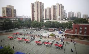 Campagne de dépistage à Pékin le 20 juin 2020.