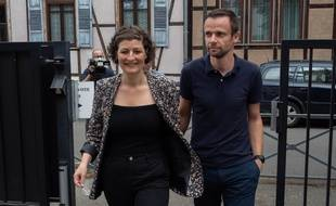 Jeanne Barseghian, la nouvelle maire EELV de Strasbourg, le 28 juin 2020.