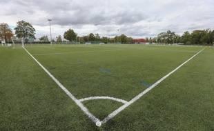 Illustration d'un terrain de foot