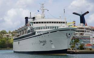 Un cas de rougeole s'est déclaré à bord du Freewinds, le bateau de croisière de l'Eglise de Scientologie.