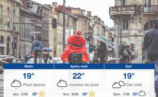 Météo Bordeaux: Prévisions du mercredi 4 août 2021
