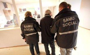 Le Samu social à Lille, le 3 novembre 2011.