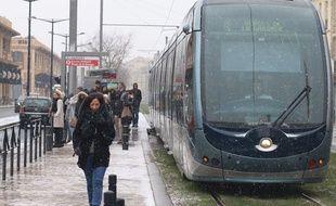 En janvier et février, le réseau de transport bordelais a connu de nombreux dysfonctionnements, notamment sur la ligne B.