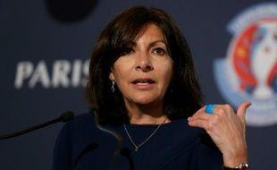 La maire de Paris Anne Hidalgo le 9 mai 2016 Paris