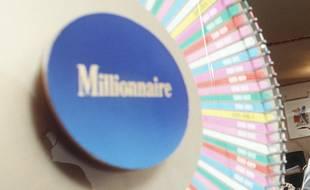 Le jeu Millionnaire permet de gagner jusqu'à 1 million d'euros.