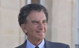 L'ancien ministre de la Culture Jack Lang le 2 mai 2017 à Paris.