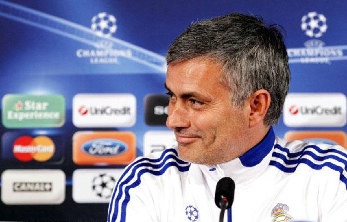 Jose Mourinho, le 21 février 2011 – P.FAYOLLE/SIPA