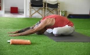 Une séance de yoga.
