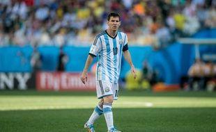 Lionel Messi contre la Suisse le 1er juillet 2014.