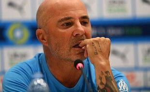 Jorge Sampaoli a tenu sa première conférence de presse en tant que coach de l'OM.