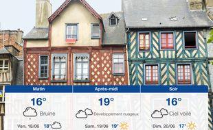 Météo Rennes: Prévisions du jeudi 17 juin 2021