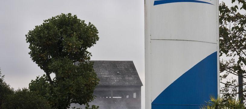 L'usine Lubrizol à Rouen, le 25 octobre 2019.