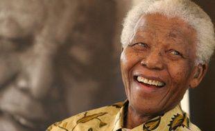 Nelson Mandela, le 7 décembre 2005 à Johannesburg.