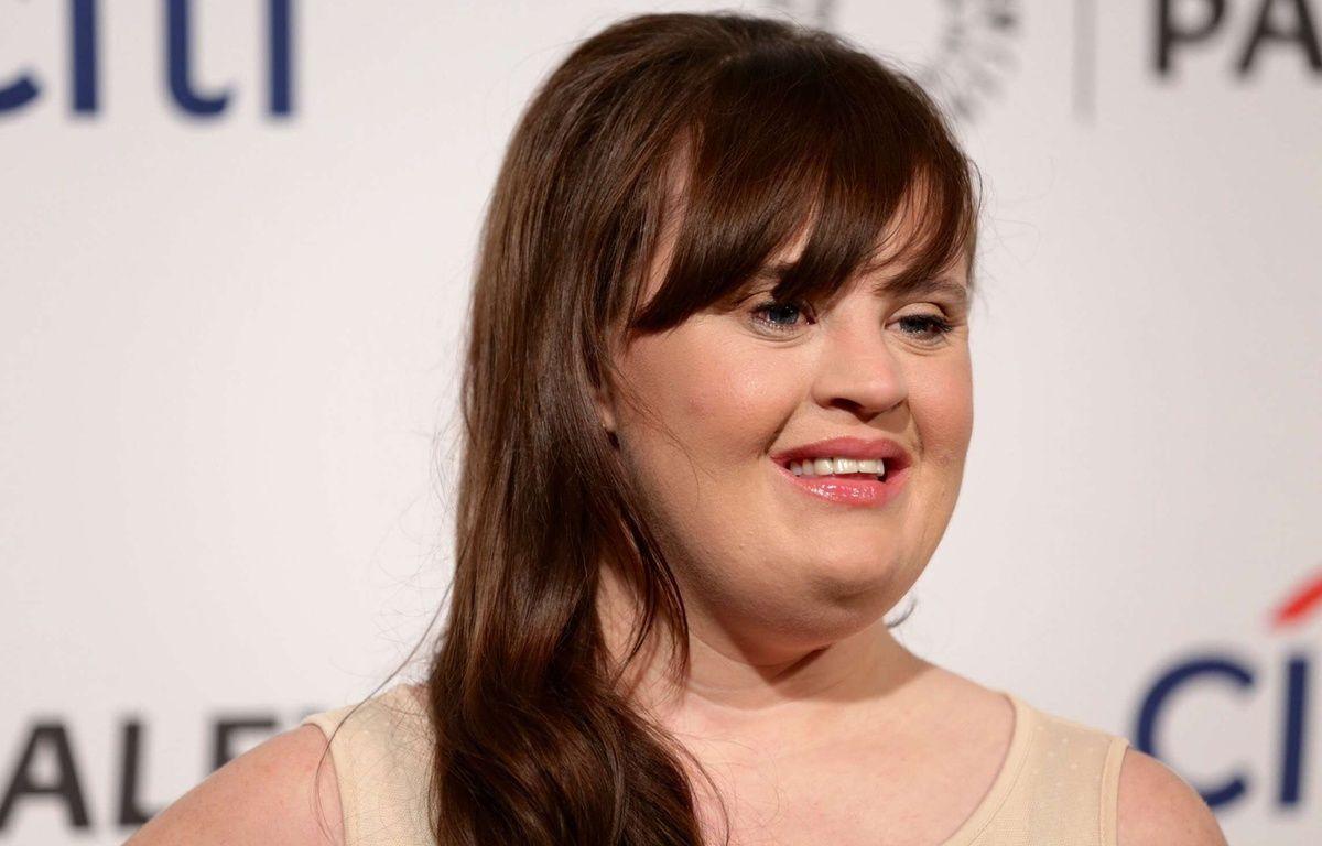 L'actrice américaine Jamie Brewer. – BT1/WENN.COM/SIPA