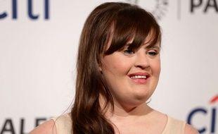 L'actrice américaine Jamie Brewer.
