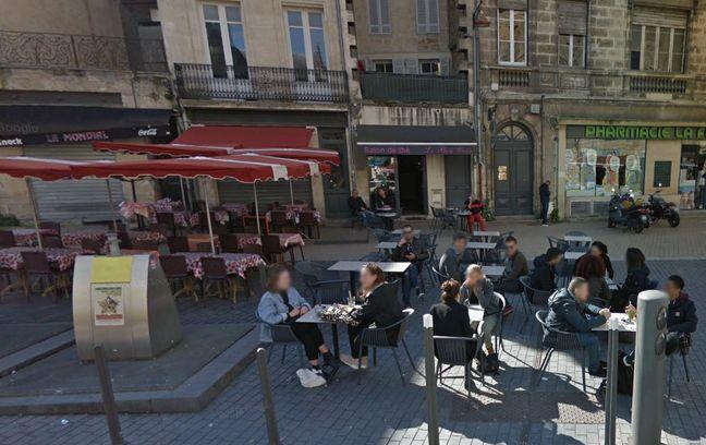 La rixe a éclaté place Meynard à Bordeaux.