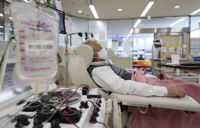 648x415 homme donne sang osaka 9 avril