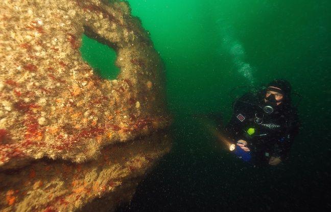 Malgré son état de conservation, l'épave du navire menace de disparaître sous l'effet de la corrosion.