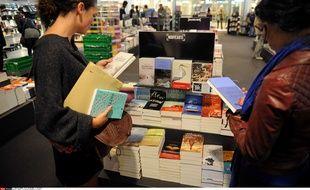 La rentrée littéraire à la Fnac, le 11 septembre 2013