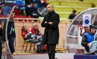 Thierry Henry dépité, que ce soit face à Bruges ou au PSG.