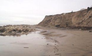 Le secteur de Soulac sur mer a été l'un des plus fortement touché par les tempêtes hivernales.
