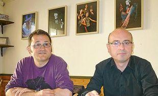 Didier Chapellon et Laurent Hamon.