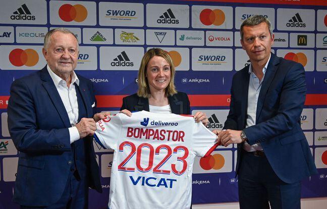 Après huit années à la tête de l'académie du club, Sonia Bompastor a été nommée mardi coach principale de l'OL par Jean-Michel Aulas et Vincent Ponsot. PHILIPPE DESMAZES