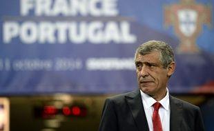 Fernando Santos a vécu son premier match en tant que sélectionneur du Portugal, le 11 octobre 2014 au Stade de France face aux Bleus (1-2).