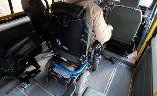 (Photo d'illustration) Un service de transport à la demande pour personne handicapée a été mis en place par la communauté urbaine de Marseille.