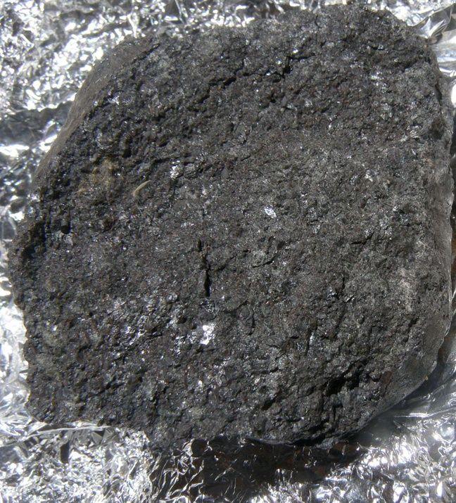 Un fragment de l'astéroïde 2008 TC3, tombé dans le désert au Soudan en 2008.