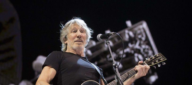 Roger Waters en concert à Philadelphie, le 8 août 2017.