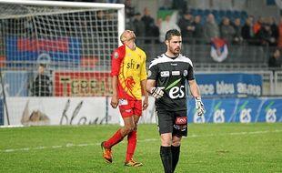 Depuis son arrivée au Racing, Guillaume Gauclin a disputé quatre matchs sans prendre un seul but. (Archives)