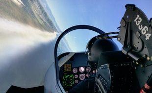 Strasbourg, le 19 novembre: Simulateur avion de chasse